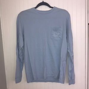 Vineyard vines blue whale long sleeve